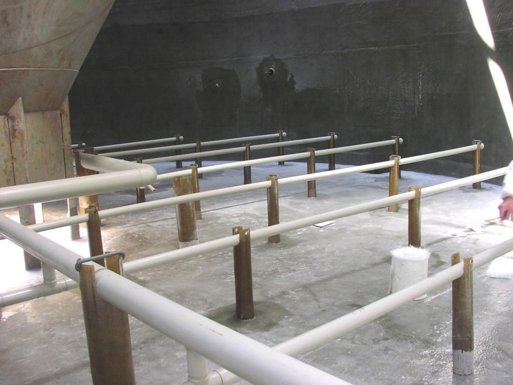 Reactor biológico aerobio fabricado en acero inoxidable