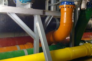 Design and construction of support structures in ETAP plant