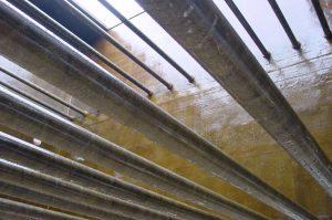 Torre de evaporación incluida en un circuito cerrado de refrigeración