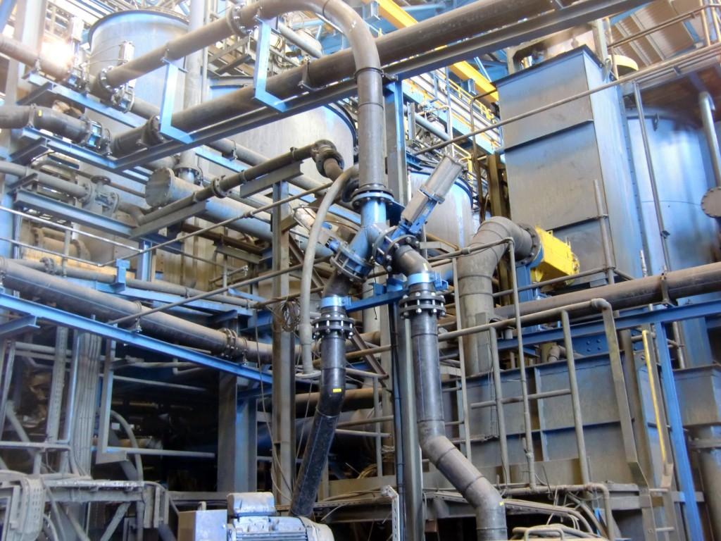 Sistemas de tuberías en material PE100 para ampliación de instalación minera